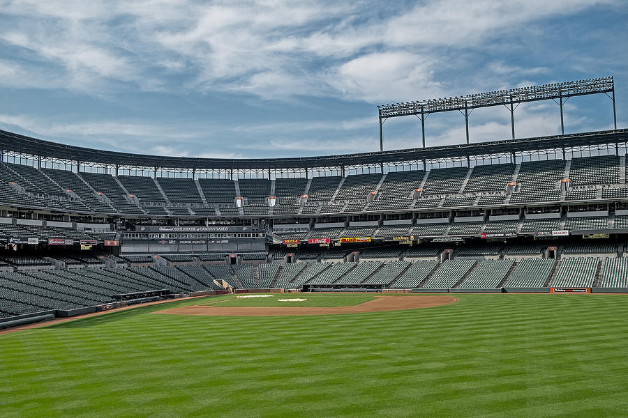 Oriole Park At Camden Yards Stadium Photograph by Susan Candelario