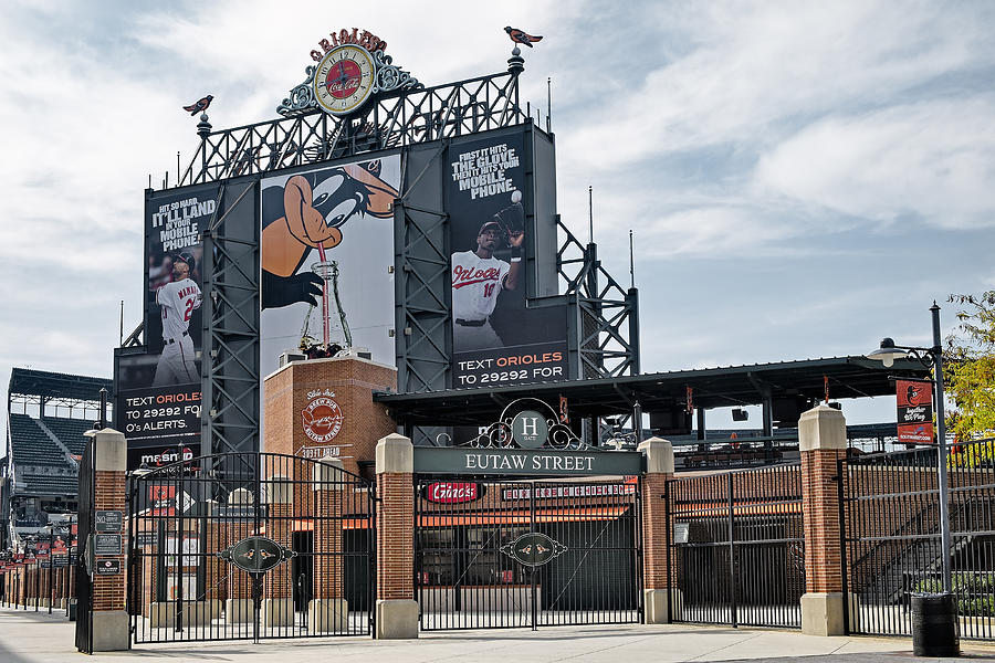 Baltimore Photograph - Oriole Park At Camden Yards by Susan Candelario