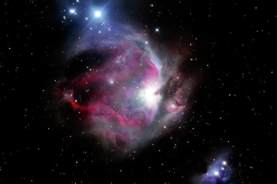 Orion Nebula Photograph by K.muller