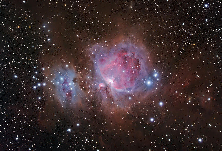 Astronomy Photograph - Orions Sword by Brian Peterson