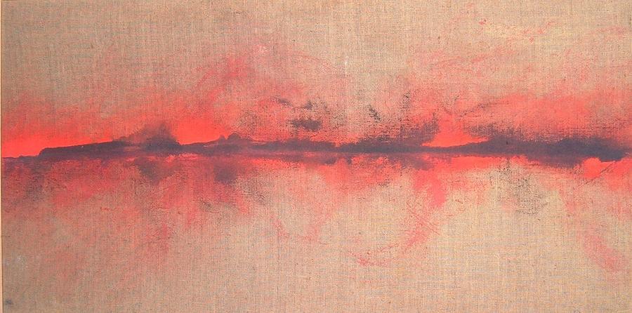 Landscape Painting - Orizzonte 11 by Aiello Sergio