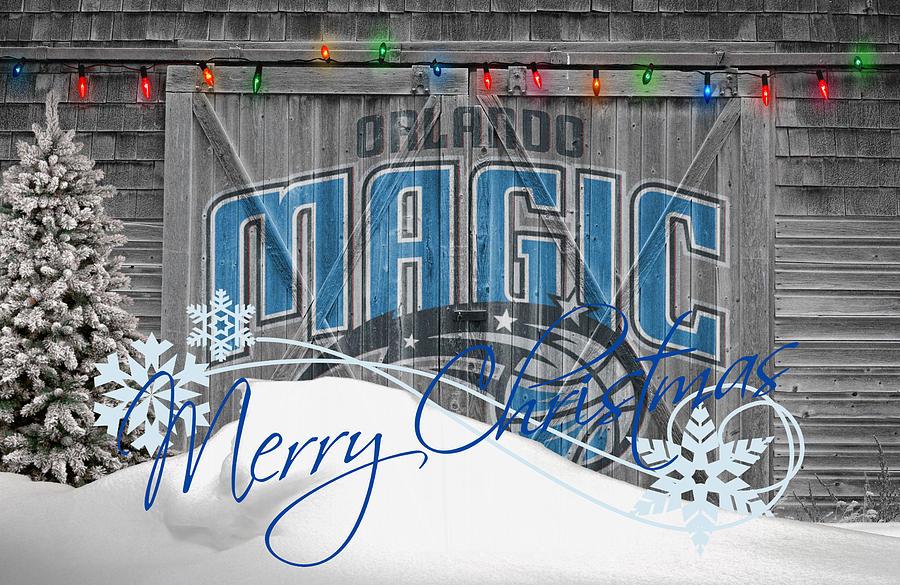 Magic Photograph - Orlando Magic by Joe Hamilton