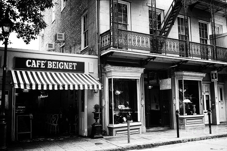 Orleans Cafe Noir Photograph - Orleans Cafe Noir by John Rizzuto
