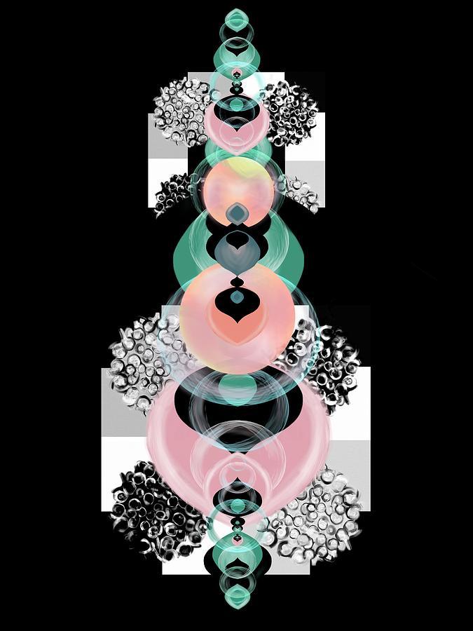 Ornamental Spreeze pink by Christine Fournier