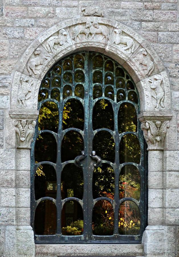 Ornate Photograph - Ornate Door by Brenda Conrad