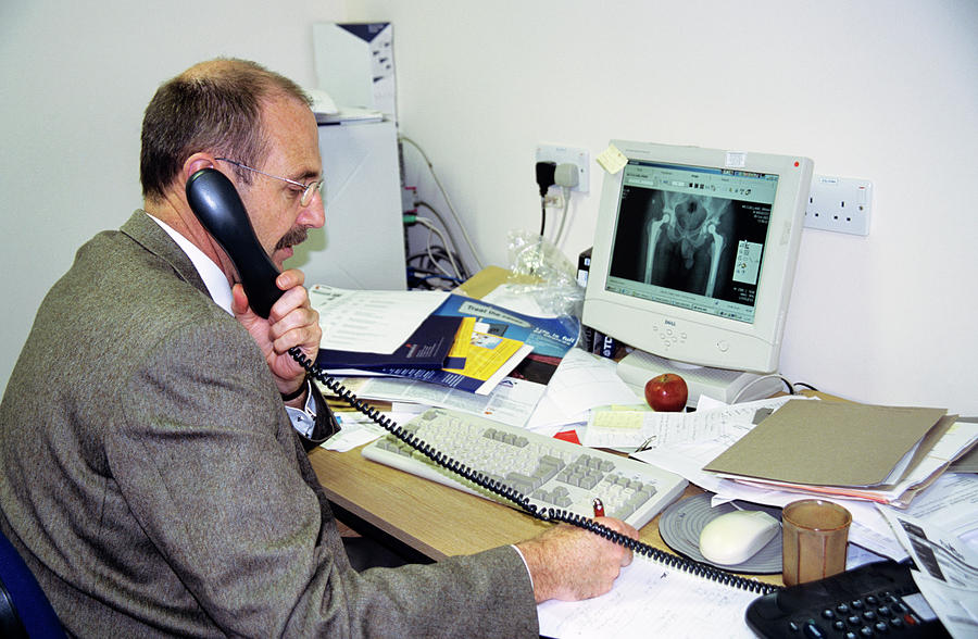 Human Photograph - Orthopaedic Consultant by Antonia Reeve/science Photo Library