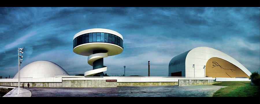 Architect Photograph - Oscar Niemeyers legacy by Pedro Fernandez