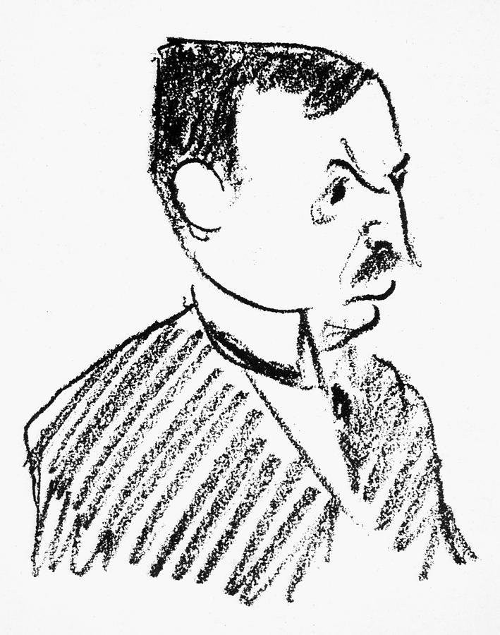 1924 Drawing - Oskar Pfister (1873-1956) by Granger