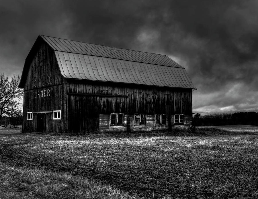 Old Barn Photograph - Oslo Corner 1 by Thomas Young