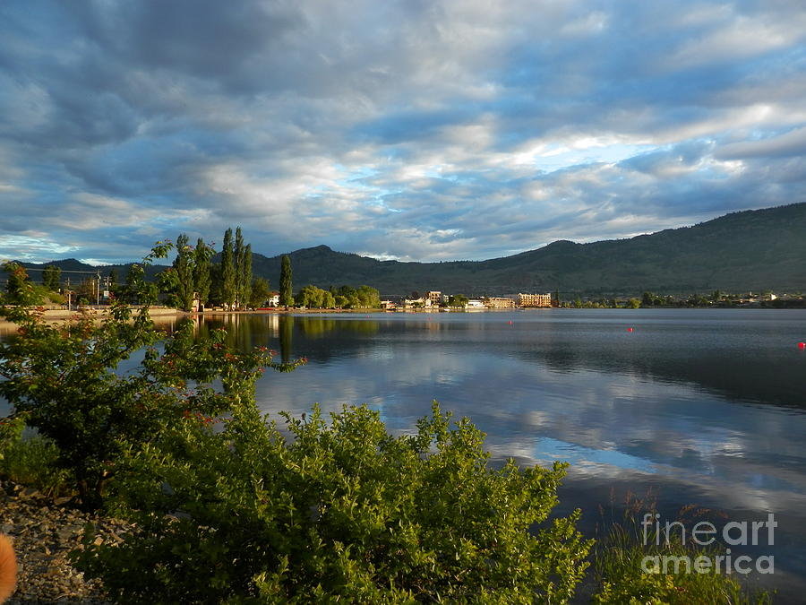 Osoyoos Photograph - Osoyoos - Quiet Reflection by Margaret McDermott