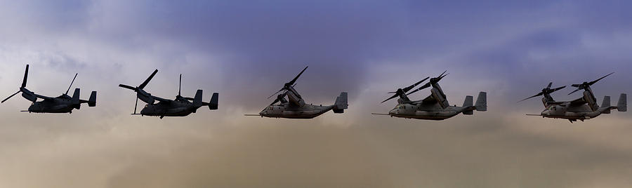V22 Photograph - Osprey Transformation by Ricky Barnard
