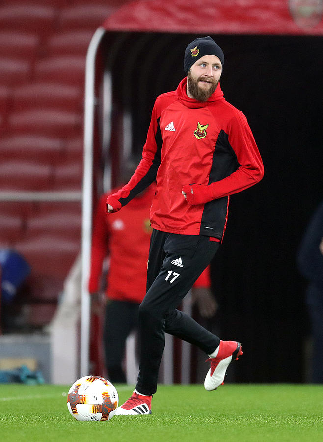Ostersunds Fk Training Session And Press Conference - Emirates Stadium Photograph by Adam Davy - PA Images