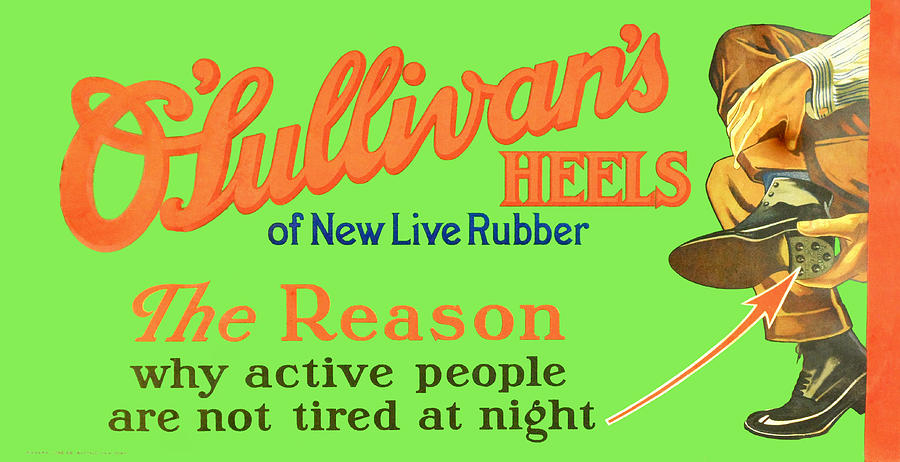 O'Sullivan's Heels of New Live Rubber by Woodson Savage