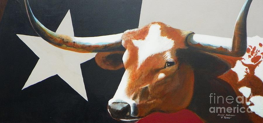 Texas Painting - Otexas by David Ackerson