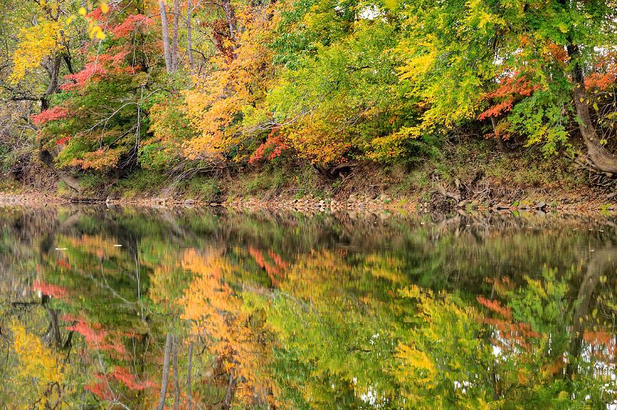 Fall Art Photograph - Ouachita Fall - Arkansas by Gregory Ballos