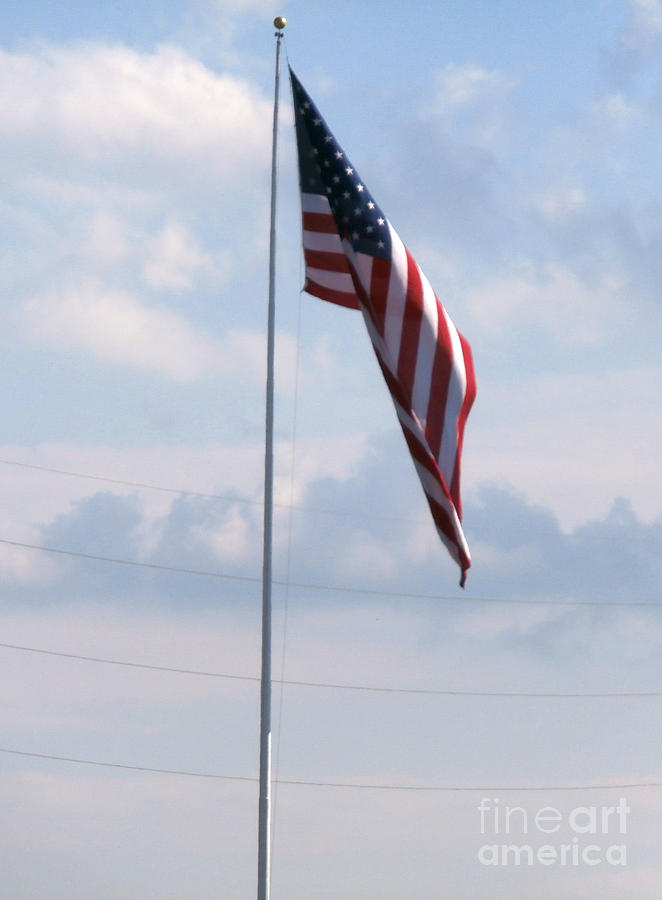 Flags Photograph - Our Flag by Joseph Baril