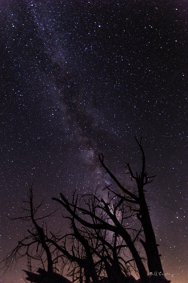 Milky Photograph - Our Galaxy by Bill Cantey