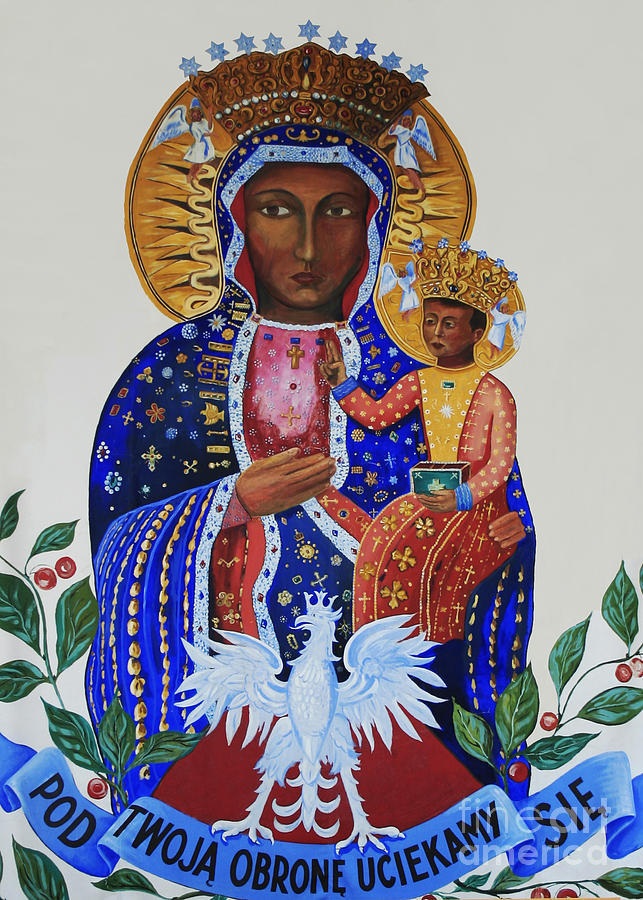 Easter Photograph - Our Lady Of Czestochowa by Barbara McMahon