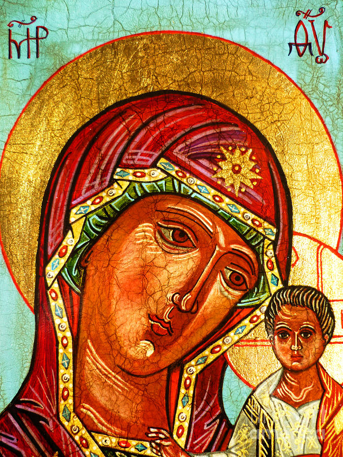 Our Lady Of Kazan Painting