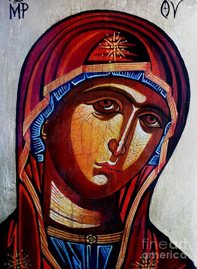 Our Lady Of Perpetual Help Painting