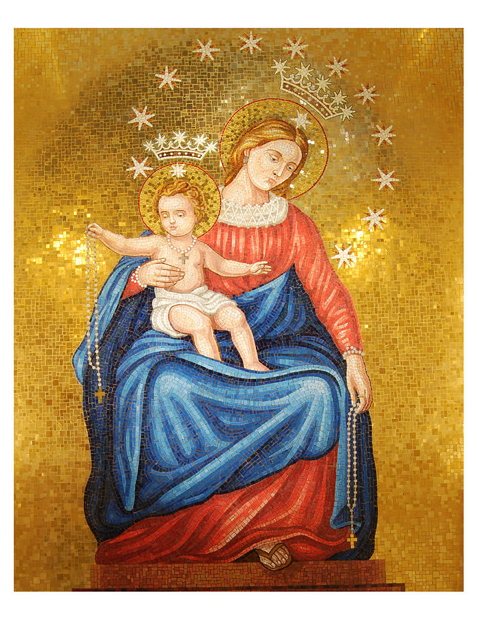 Mary Photograph - Our Lady Of Pompeii by Philip Ralley