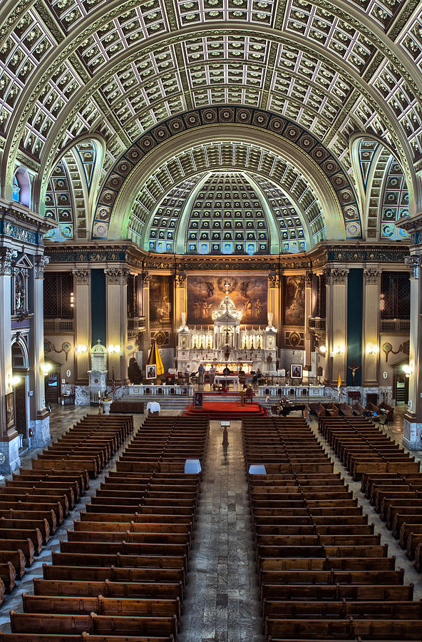 Hdr Photograph - Our Lady Of Sorrows Basilica IIi by Roger Lapinski