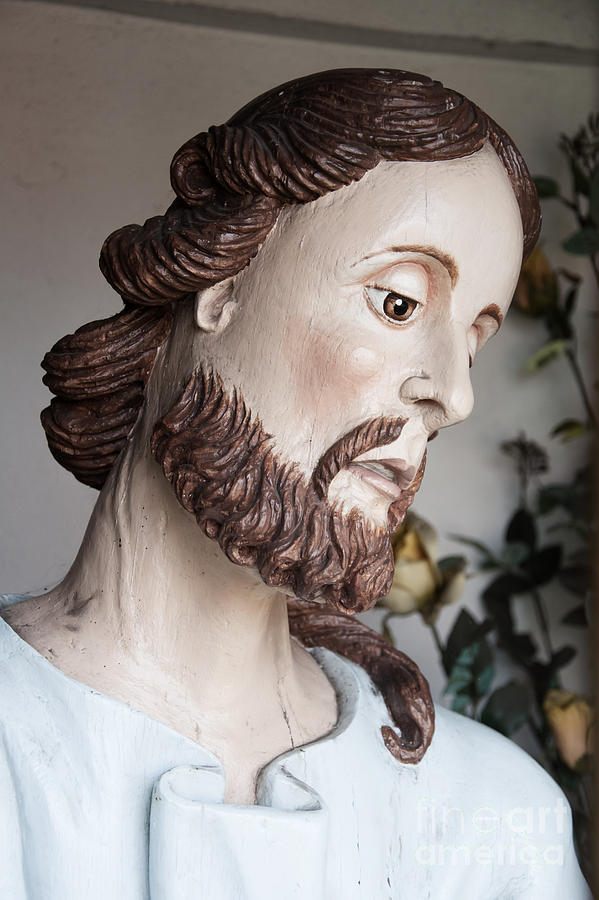 Religious Sculpture Photograph - Our Lord by Agnieszka Kubica