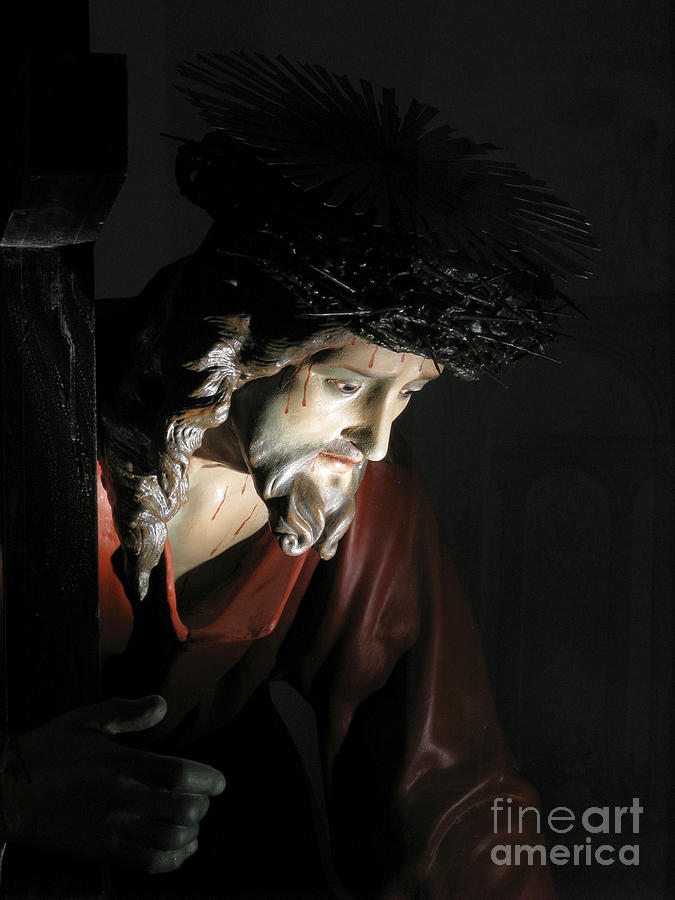 Jesus Christ Sculpture - Our Saviour by Richard Faenza