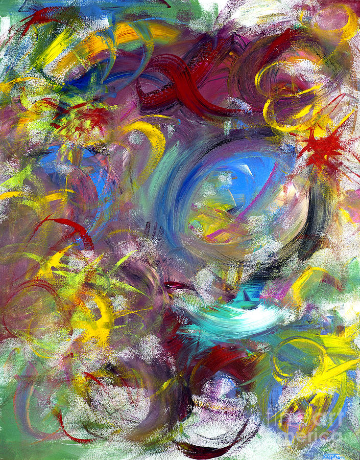 Abstract Painting - Our Song by Jason Stephen