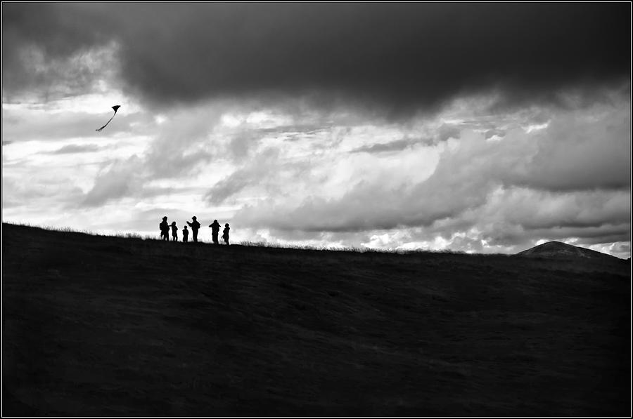 Kite Photograph - Our Time by Jason Green