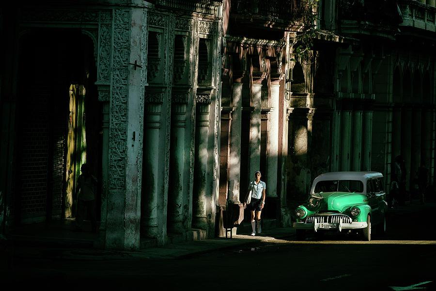 Cuba Photograph - Our Way To Cuba by Gina Buliga