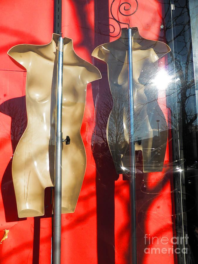 Mannequins Photograph - Out Of Business by Mark Thomas