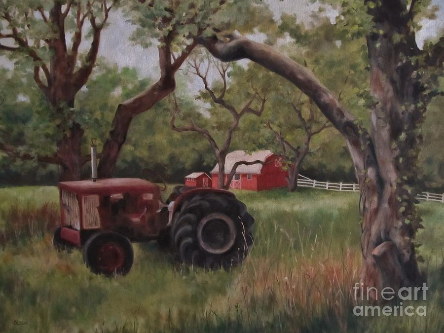 Antique Painting - Out Of Commission by Karen Olson