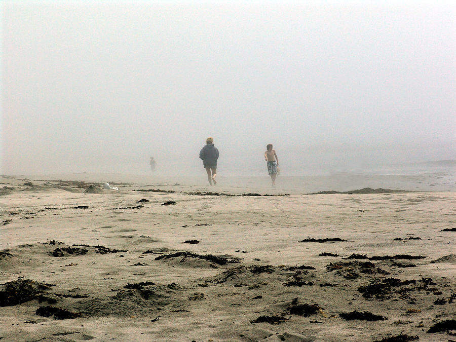 Sand Photograph - Out Of The Fog by George Cousins