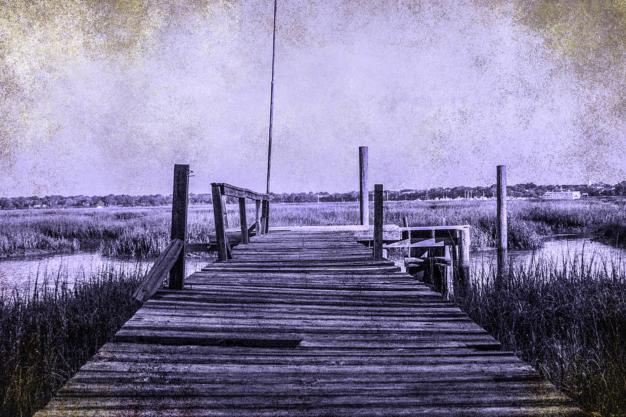 Pier Photograph - Out On The Pier  by Steven  Taylor