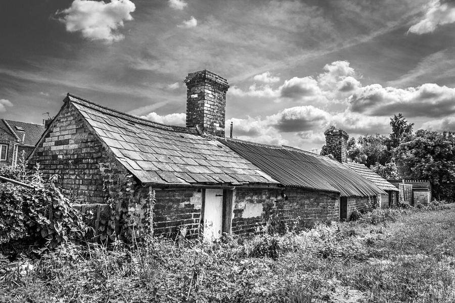 Outbuildings Photograph - Outbuildings. by Gary Gillette