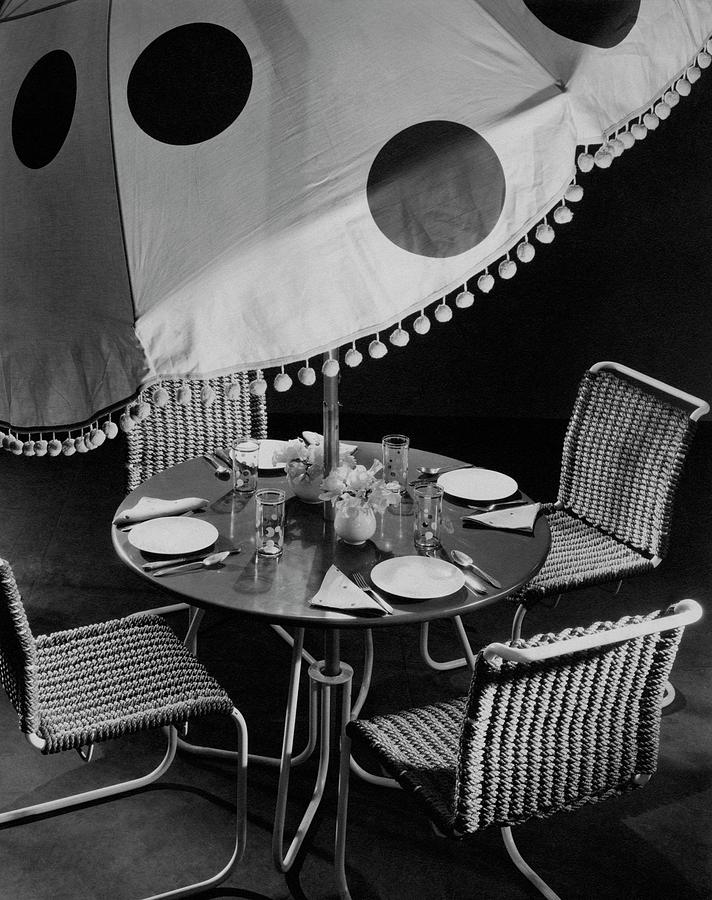 Outdoor Furniture Photograph by Peter Nyholm & John Phillips