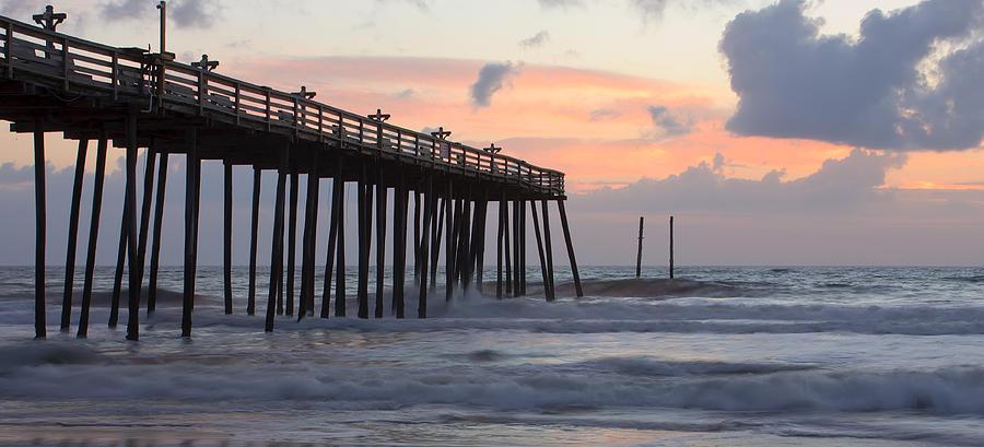 Atlantic Photograph - Outer Banks Sunrise by Adam Romanowicz
