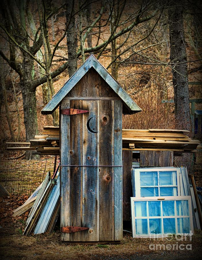 Outhouse Photograph - Outhouse - 5 by Paul Ward