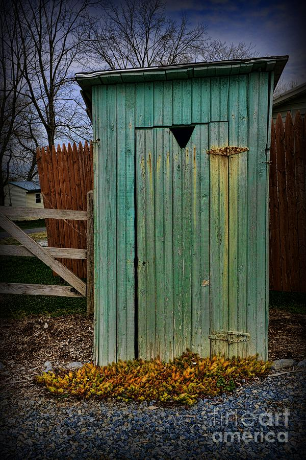 Outhouse Photograph - Outhouse - 6 by Paul Ward