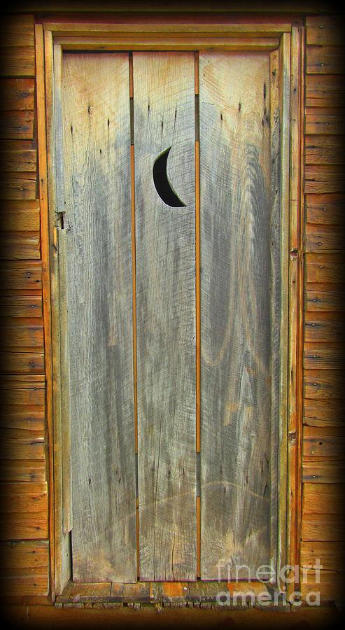 Outhouses Photograph - Outhouse Door by John Malone & Outhouse Door Photograph by John Malone Pezcame.Com