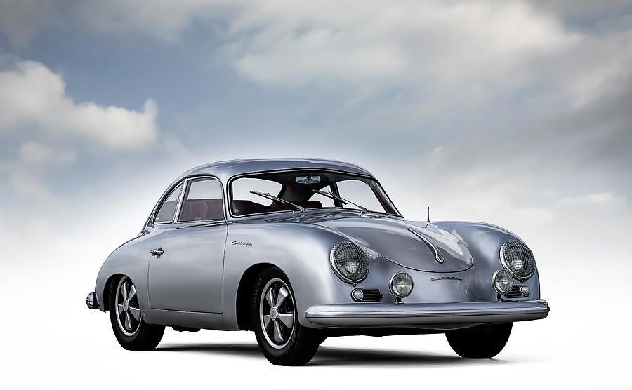 Porsche Digital Art - Outlaw 356 by Douglas Pittman