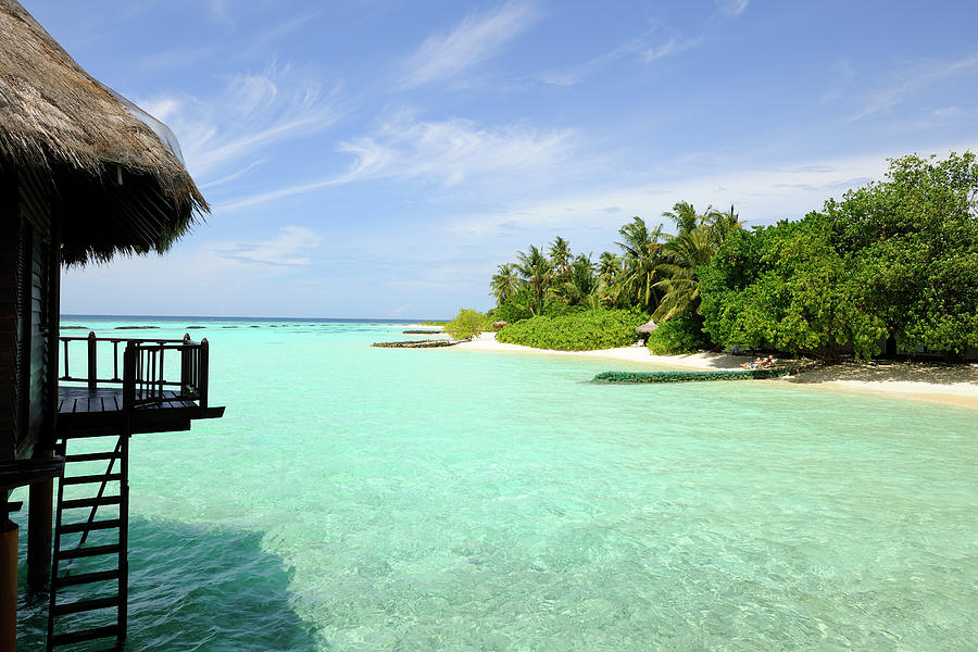 Outlook On A Maldives Island Photograph by Wolfgang steiner