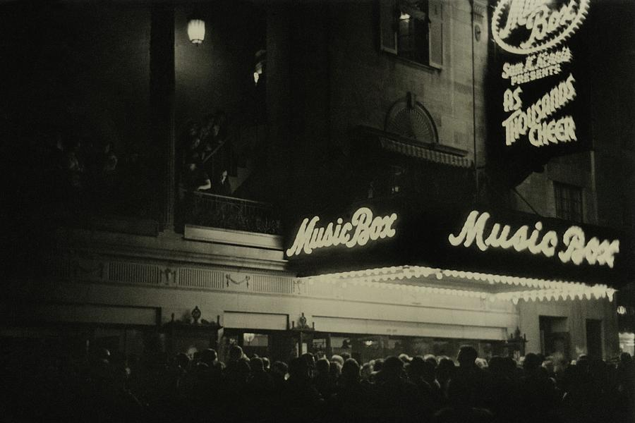 Outside The Music Box Theatre Photograph by Remie Lohse