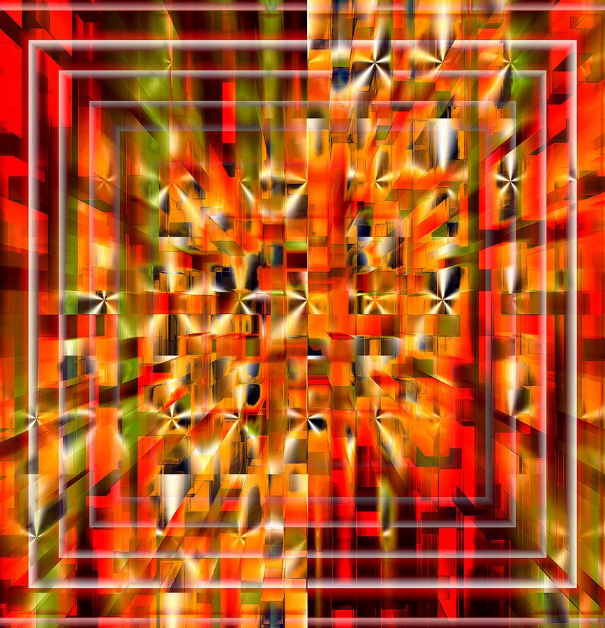 Outward Connected Digital Art