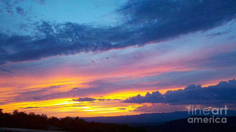 Sunset Photograph - Outwest by Polly Anna