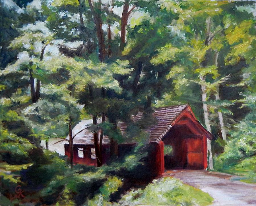 Landscape Painting - Over And Under by George Kramer