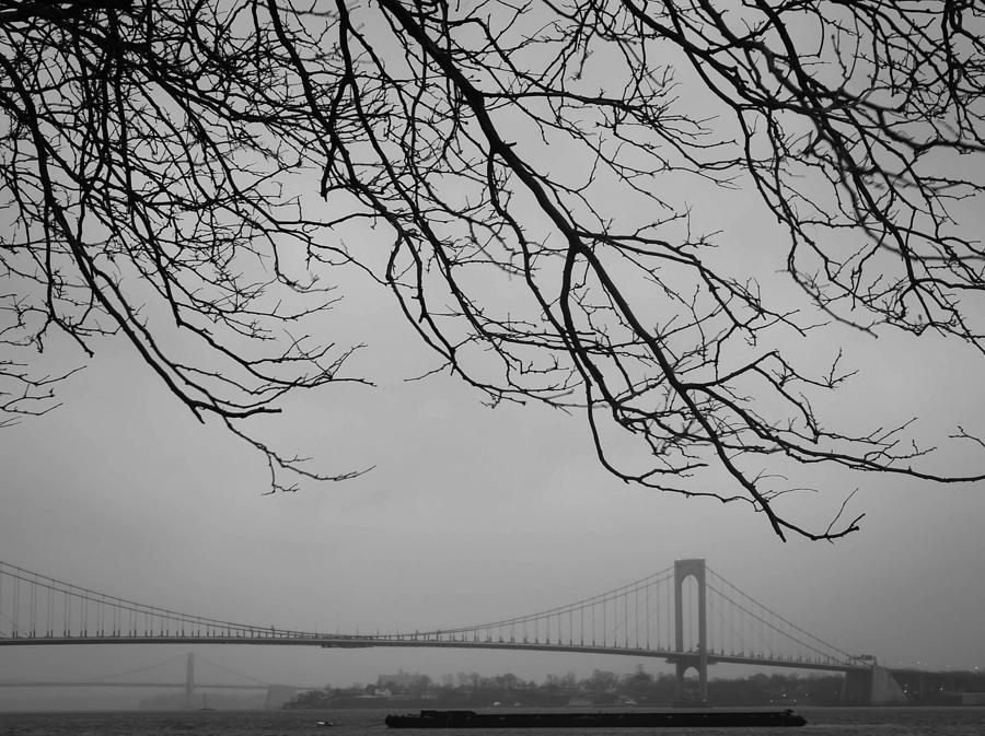 Bridge Photograph - Over The Bridge by Richie Stewart
