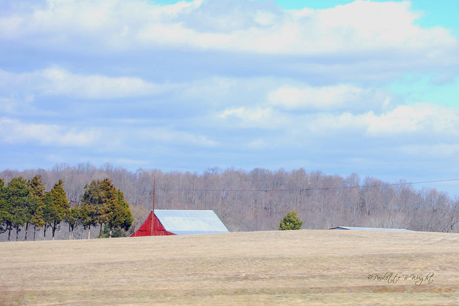 Featured Photograph - Over The Rise - Kentucky by Paulette B Wright