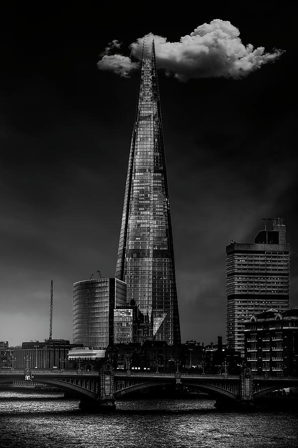 Architecture Photograph - Over The Shard by Jackson Carvalho